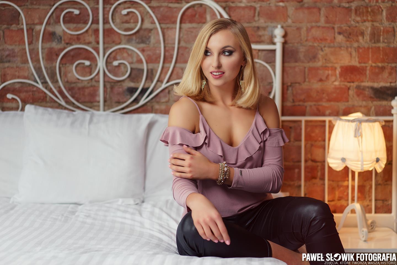 sesja kobieca w hotelu Warszawa